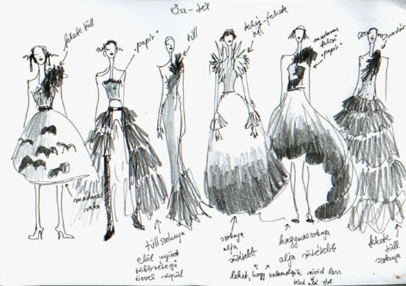 Pictures tops fashion design sketches flat fashion sketch top 045
